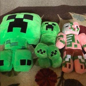Minecraft Stuffies (3)